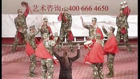 吉林白山靖宇县某消防部队小型威风锣鼓队