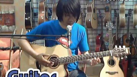 左轮吉他初级入门教程34《人人可以弹吉他》第34课《指弹斯卡保罗集市》