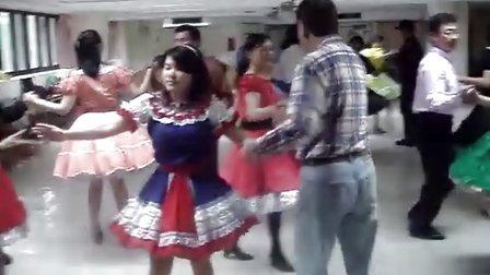 2011.03.12國際方塊舞(2)Billlu2008  square dance