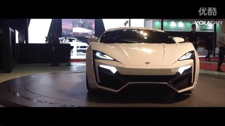 2014 W Motors Lykan Hypercar First Arabian Supercar
