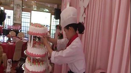 六层生日蛋糕