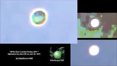2011年6月24日伦敦UFO及专业鉴定,高清晰。