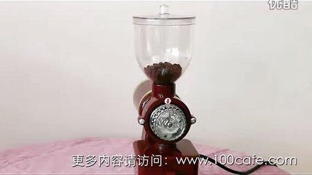 100cafe壹佰咖啡正晃行小飞鹰半磅电动磨豆机演示