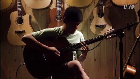 湖南长沙指弹吉他群友会3,何康表演《安东尼斯花园》