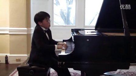 黎卓宇(George Li)弹奏拉威尔钢琴曲镜子集中的Une barque sur l 'ocean