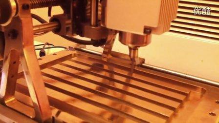 雕刻机样机运行G代码视频