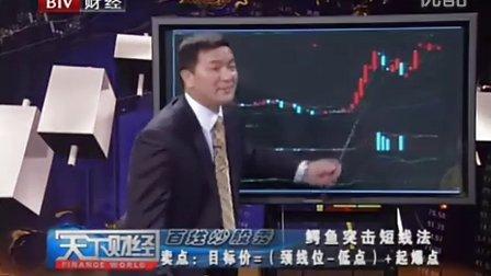 天下财经 鳄鱼突击短线法 百姓炒股秀 2011-6-15