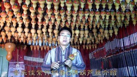 音乐佳紫竹铜套C调专业演奏录音型葫芦丝介绍讲解试音