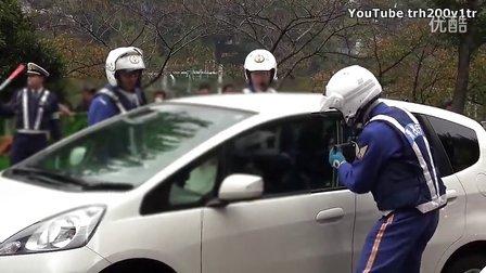 中国彪悍女东京驾车违规被日本骑警强行破窗逮捕!