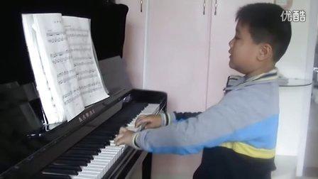 钢琴练习《郊游》
