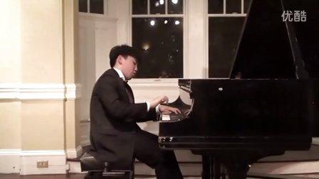 黎卓宇(George Li)演奏李斯特第三号安慰曲