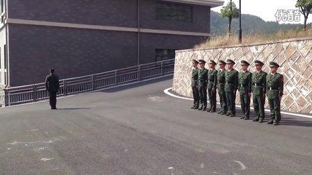 武警部队队列训练
