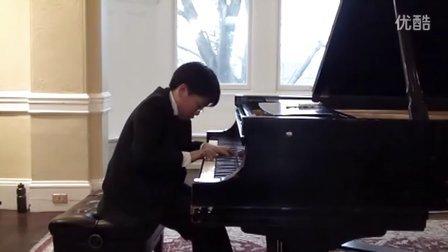 黎卓宇(George Li)弹奏李斯特D大调第三号安慰曲