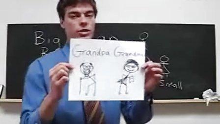 学英语外教课堂真实版 English  Lesson 1