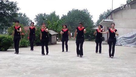 团洲湖2组广场舞老鹰抓小鸡