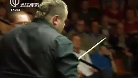 2011 斯诺克世界锦标赛第一轮  希金斯VS斯蒂芬李 上