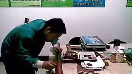 家具修理补漆技能资料视频解说绿色三谷