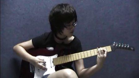 深圳吉他 FD吉他教室美女吉他手黄烁Hard Rock《DOWNLOND》Rock School三级曲目