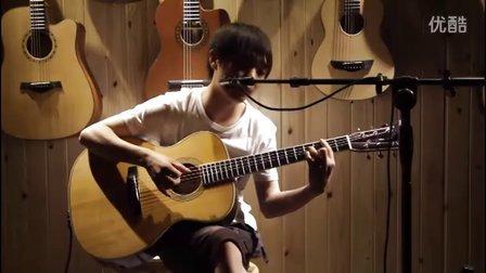 湖南长沙指弹吉他群友会10,谢皇表演弹唱《女人香》