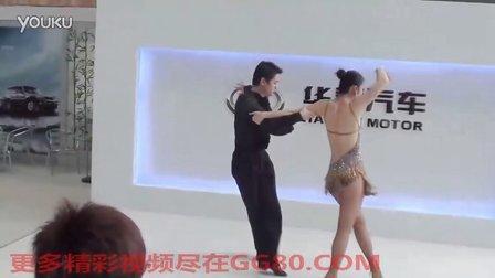 2011年深圳国际车展华泰汽车超级性感拉丁舞吸引观众 沃网网络出品原创视频