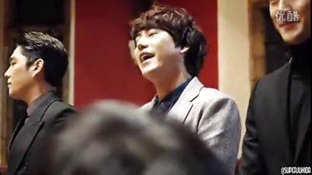 Super Junior 牛津演讲 自我介绍