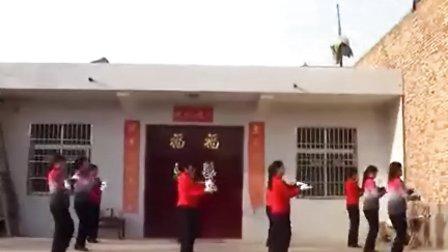 蒲城县苏坊镇联武村三八妇女节跳舞