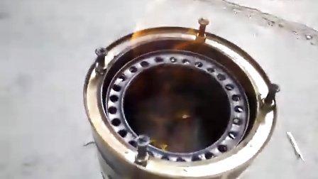 铁锤自制木煤气炉