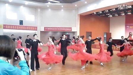 2013年安庆市体育舞蹈大赛 潜山韦德健身队平四集体舞表演3