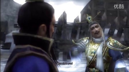 游戏视频学英语 超清三国无双5曹操传01 中英文字幕