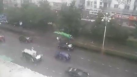 [拍客]7月4日下午合肥下了好大的暴雨