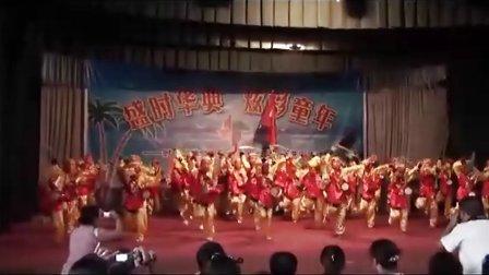 临汾时代风华2011六一儿童节四(4)班腰鼓表演!