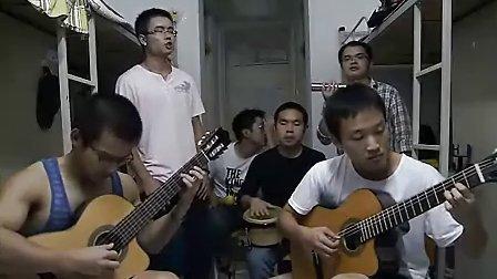 大学生宿舍专业弹唱加州旅馆
