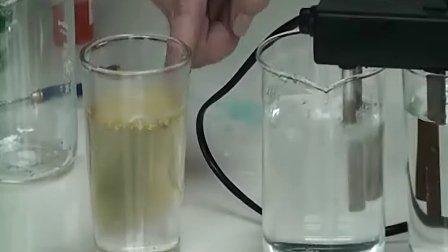 自来水与纯水电解试验揭秘
