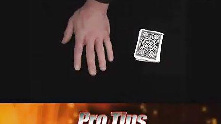 扑克魔术花式