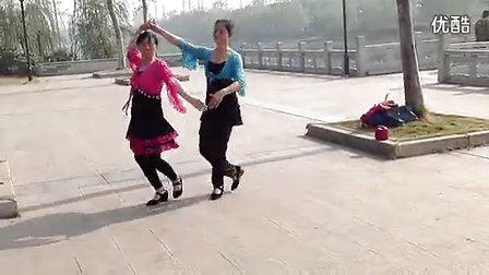 樟树杜鹃广场舞 双人舞 喜乐年华