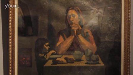 [拍客]价值超4亿油画亮相武汉-黑土大地俄罗斯油画巡回展
