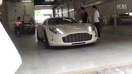 2011上海超跑嘉年华ONE77启动!