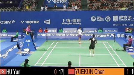 【直播地址】2013最新羽毛球比赛 第一轮男单比赛 羽球吧