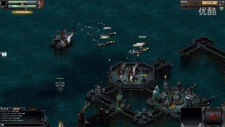 Battle Pirates-4 players hit drac base