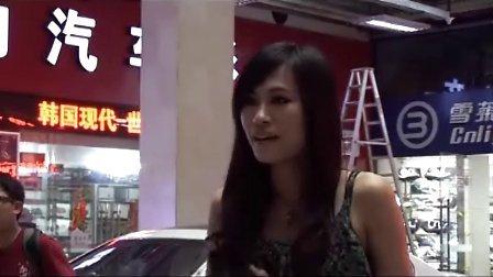 """""""车友互联杯""""希尔秀改装车超模大赛参赛选手039号张晓冰"""