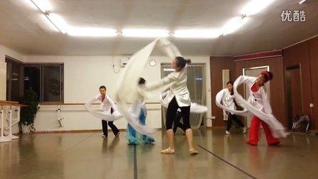 古典舞水袖技法学生视频  欧艺博舞蹈培训学校  授课教师 刘月