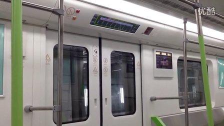 武汉地铁4号线体验 - 罗家港到园林路 车内概览 动态LCD