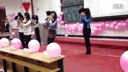 运城学院中文系女生部非诚勿扰开场舞