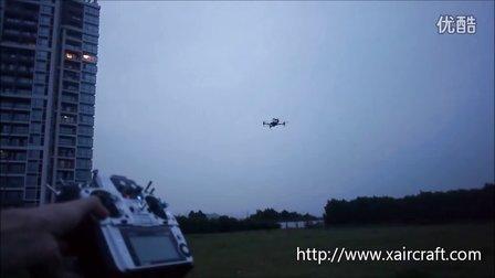 XAircraft X450Pro  GPS定点悬停测试