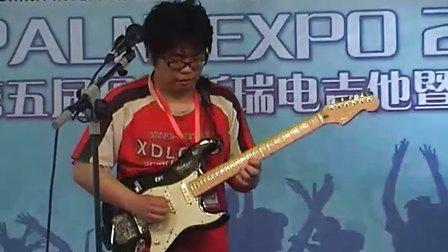 2010 Palm展第五届贝塔斯瑞电吉他暨乐队大赛2号选手比赛视频
