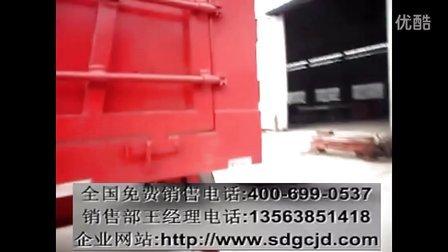 半挂侧翻车价格-14.6米重型半挂车自卸车图片-11米厢式自卸车图片