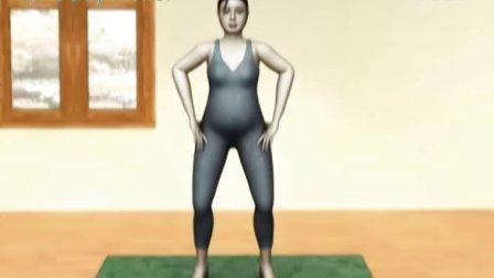 怀孕中期瑜伽——转骻式