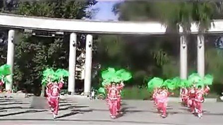 齐齐哈尔市建华区名人花园小区《爱我中华》舞蹈表演