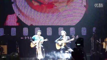 卢广仲上海演唱会之开头忘记歌词的100种生活
