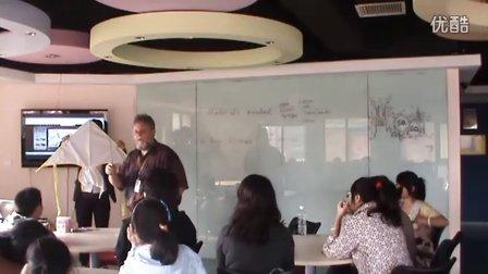 学英语 低碳生活-外教教你做风筝_金华韦博英语